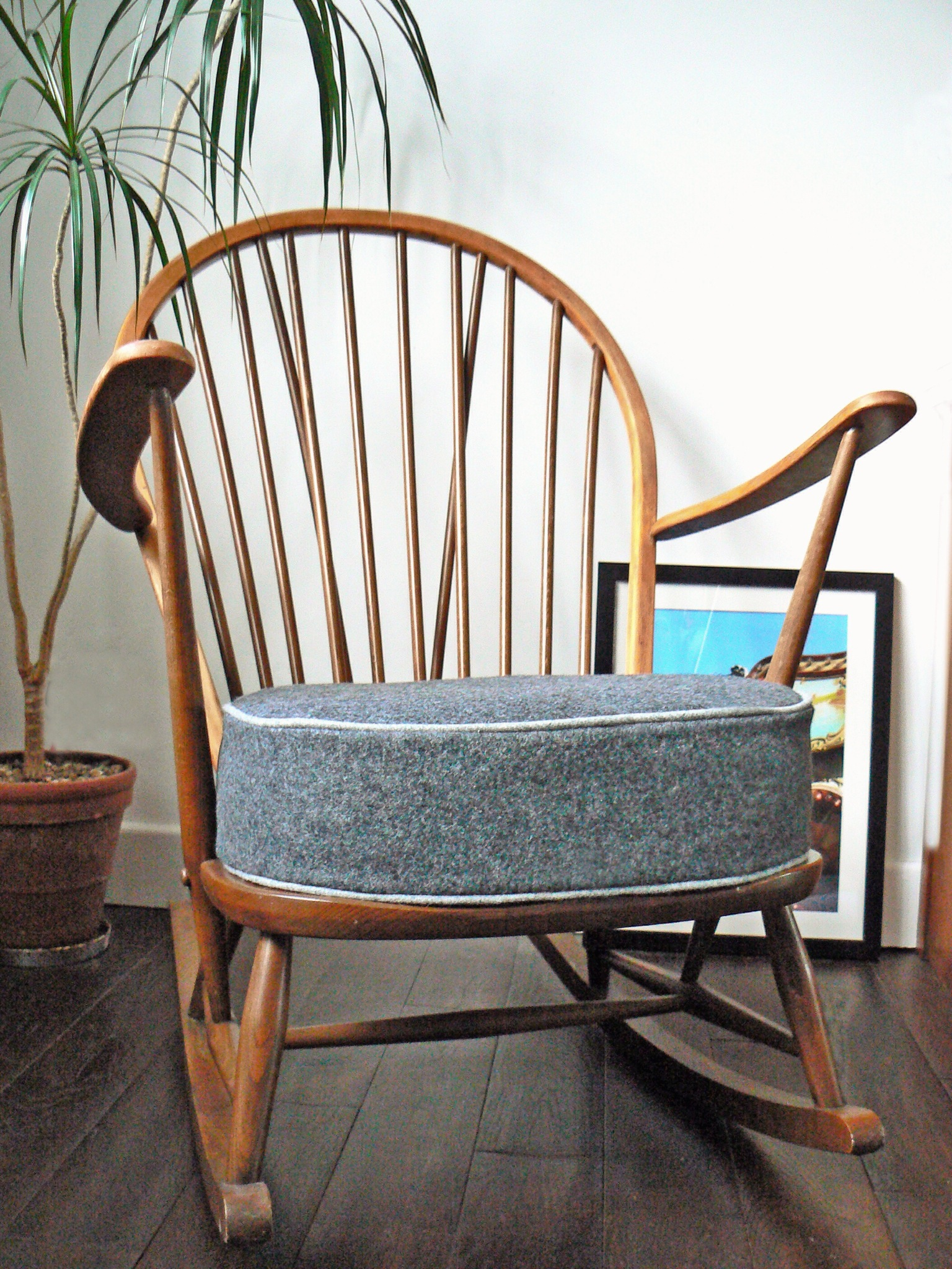 1960s Ercol Rocking Chair Philshakespeare Upholstery